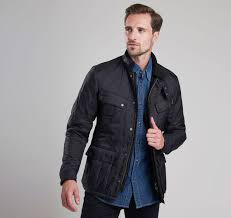Quilted Jackets | Mens | All Collections | Barbour & B.Intl Ariel Polarquilt Jacket ... Adamdwight.com