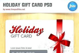 Free Gift Card Design Template Meetstan Co