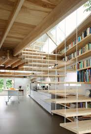 CJWHO  (House G by Maxwan Architects + Urbanists) - Love open concept, and  if you must have stairs, they should be open, as well!