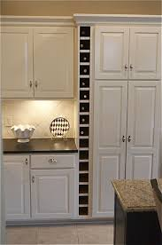 Integrated Wine Cabinet 25 Best Ideas About Countertop Wine Rack On Pinterest Bars For