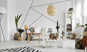 geometric wall painting ideas for your
