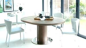 circular kitchen table and chairs half circle dining large round glass t