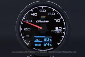 greddy 16001711 multi d a 3 in 1 gauge press temp and temp multida oilpres jpg