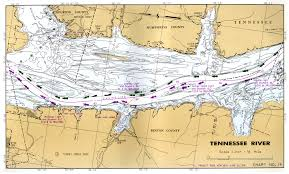Tennessee River Navigation Charts Tennessee River