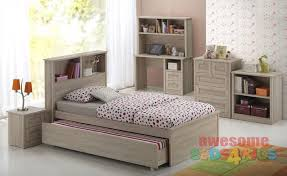 single beds for kids. Modren For Broadbeach Trundle Bed Is A Very Modern And Practical Bedroom Solution For  Boys Or Girls On Single Beds For Kids