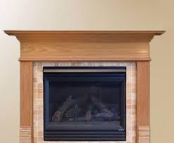 image of fireplace mantel kits ideas