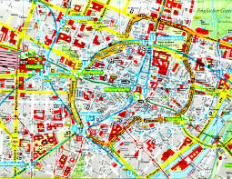 munich map  full size