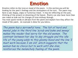 poem analysis emotion 34