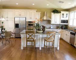 Kitchen Island Farmhouse Kitchen Ultra Minimalist White Cabinet Kitchen Idea With
