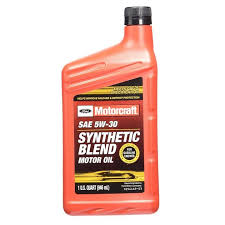 sae 5w 30 synthetic blend motor oil qt
