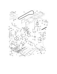 further CRAFTSMAN LAWN TRACTOR Parts   Model 917272462   Sears PartsDirect in addition Craftsman Z6000 zero turn drive belt replacement    YouTube as well CRAFTSMAN TRACTOR Parts   Model 917287461   Sears PartsDirect besides How to Replace a Deck Belt on a Lawn Tractor Video moreover How do I change this belt    Page 2   MyTractorForum     The also I need belt diagram for craftsman lt2000 riding mower additionally  additionally  also Craftsman Lawn Mower YT 3000 User Guide   ManualsOnline moreover How to replace Craftsman LT2000 mower deck belt   YouTube. on craftsman deck belt diagram ground