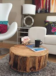 The best Tree trunk coffee table ideas on Pinterest Tree