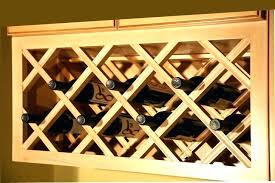 wood wine glass rack hanger under cabinet wooden ikea