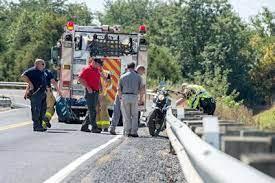 Motorcyclist Crashes, Lands 200 Feet Away   Harrisonburg   dnronline.com
