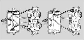 how to replace an electrical outlet dummies Outlet Wiring Diagram White Black Outlet Wiring Diagram White Black #35 Multiple Outlet Wiring Diagram