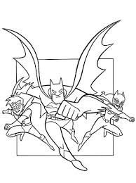 Small Picture Batman Catwoman And Robin coloring page Free Printable Coloring