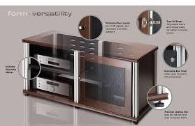 Amazon.com: Salamander Synergy 237 A/V Cabinet with Three Doors ...
