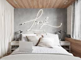 Bedroom Designs: Spotted Wall White Feature Wall Ideas - Decor