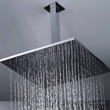 shower arm extension shower head extension arm 30cm square ceiling extension arm wall mounted for bathroom