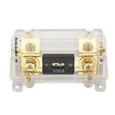 audio transparent fusetron fuse box fuse holder gold car audio transparent fusetron fuse box fuse holder gold