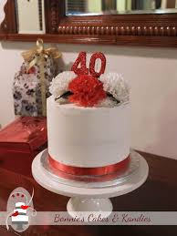 Celebrating 40 Years Of Love And Marriage Bonnies Cakes Kandies