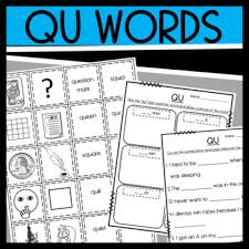 Welcome to our phonics worksheet section! Qu Worksheets Teachers Pay Teachers
