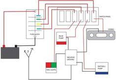 boat wiring schematic boat pinterest boating, boat building 3-Way Switch Wiring Diagram newbie switch panel & wiring questions the hull truth boating and fishing forum