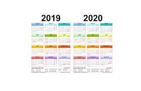 Academic Calendar 2020 17 Template Fashion Calendar 2020 Calendar 2020