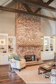red and gray bricks were used to build a decorative wall the number of red bricks. the dream beam! using faux beams for a gold-medal style on fools-gold budget. brick fireplace wallfireplace red and gray bricks were used to build decorative wall number of