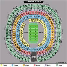 3p 6c95c4 In 14 New Qualcomm Stadium Seating Chart With Seat