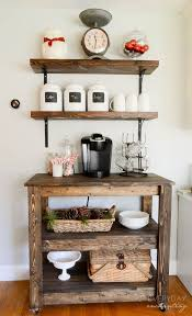 You can close the station when it is not in use; 11 Genius Ways To Diy A Coffee Bar At Home Eatwell101