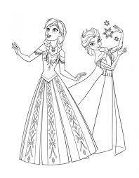 Colorați personajele iubite în creion sau vopsele. Desene Cu Elsa È™i Ana De Colorat PlanÈ™e È™i Imagini De Colorat Cu Elsa È™i Ana