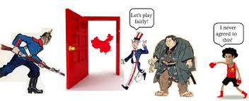 China S Open Door Policy Especially Germany Began To Take Over Leaseholds In Throughout Simple Design
