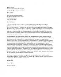Example Of Cover Letter For Resume New Cover Letter Samples UVA Career Center