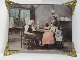 Image result for 1800s family at the supper table