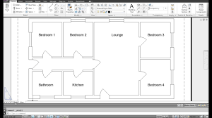autocad floor plan tutorial pdf home decor how to draw house in samples autocard drawing buildind
