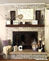 can you paint a brick fireplace painting brick fireplace living room with brick fireplace paint colors