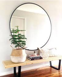 large round wall mirror ikea round designs