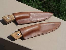 Knife Sheath Patterns Impressive Making Leather Knife Sheath YouTube