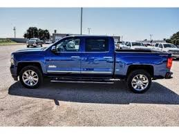 New 2017 Chevrolet Silverado 1500 4x4 Crew Cab High Country for sale ...