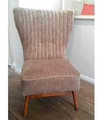 Slipper Chair Italia Slipper Chair In Mushroom Velvet Ed Butcher