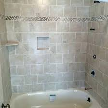 marble tiled bathroom transitional rice construction mosaic tile