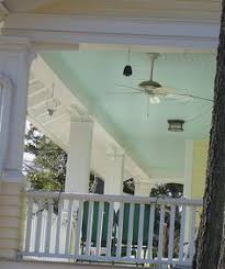 light blue paint on porch ceilings isn t just done out of southern tradition