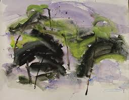 fargo north dakota waterlilies 2016 watercolor on paper 42 x 62 inches range 1 200 1 500