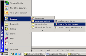 A step-by-step tutorial on setting up the web server using IIS on ...