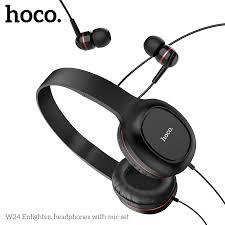 <b>Hoco</b> W24 Gaming Headset dengan Microphone 3.5mm Plug ...