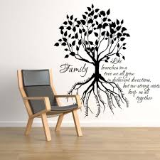 fam spectacular family tree wall decal