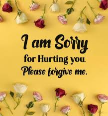 sorry messages perfect apology