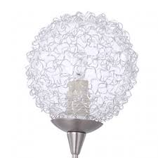 spare part replacement clear glass crystal effect lamp light shade lampshade