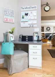 pretty kitchen command centre keep your paperwork organized and counters clutter free white antique cabinets with